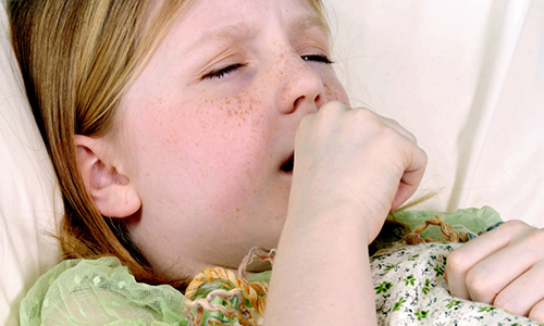 how to stop a dry cough in a child